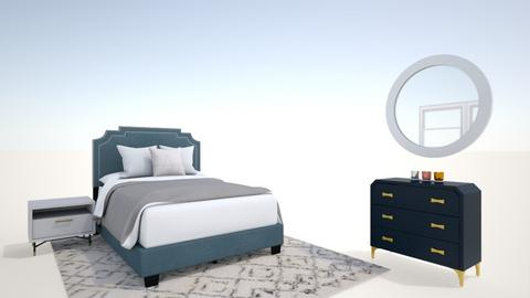 Jessie_Mustain_5A - Modern - Bedroom  - by Janet Tingey