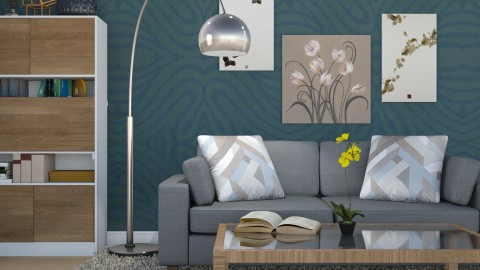 Light Interest - Modern - Living room - by Mythrintia