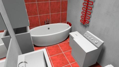 Balta vannas istaba - Minimal - Bathroom  - by BUNA