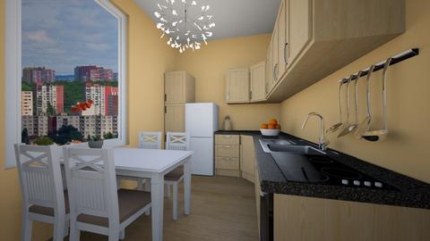 This - Classic - Kitchen  - by Twerka