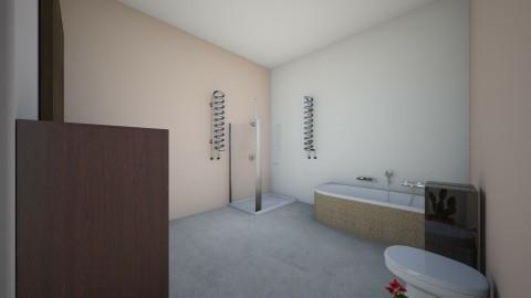 Bathroom spa - Minimal - Bathroom  - by Moonlight01