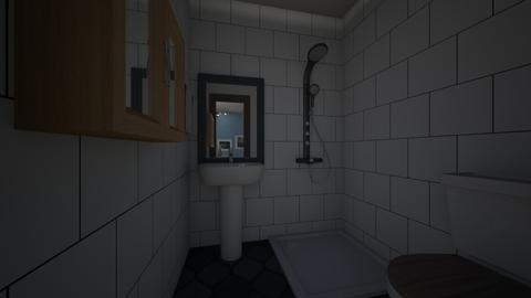tiny house 3 - Minimal - Bathroom  - by Brina Yunio