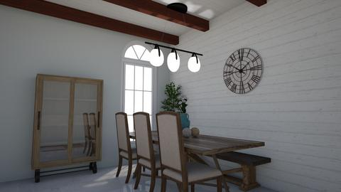Rustic - Rustic - Kitchen  - by elizabethwatt16