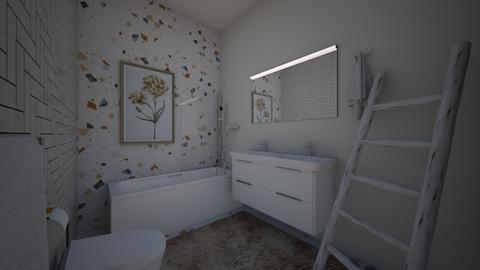 modern family - Modern - Bathroom  - by kat587494