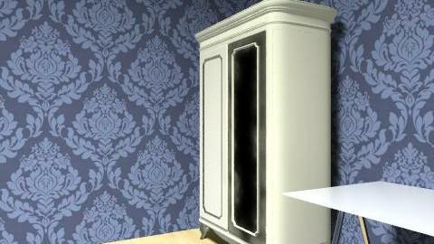 uncompleted design damask  - Vintage - Kitchen  - by lizfiz