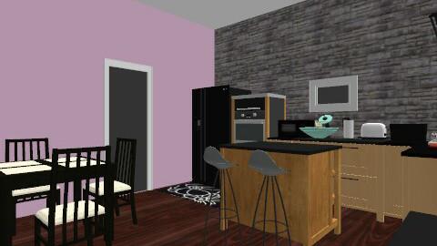 kitchen - Glamour - Kitchen  - by norelis