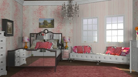baby room - Glamour - Bedroom  - by sarahl