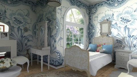 Shabby - Vintage - Bedroom  - by milyca8