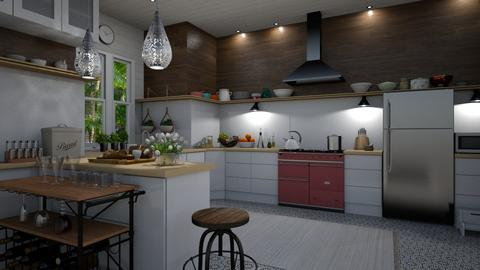 EKitchen2 - Kitchen - by rickglassinteriors