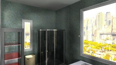 Floor House Bathroom - Minimal - Bathroom  - by Jacquie Ru