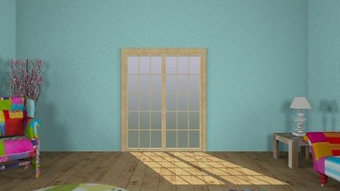 hippie room - Retro - Living room  - by sea1785