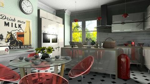 jefferson - Kitchen  - by KittiFarkas
