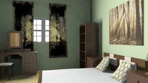 Adult bedroom - Country - Bedroom  - by AmyMcGrane