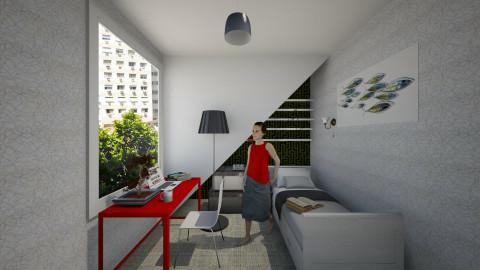 a bit small - Modern - Bedroom - by nioosh88
