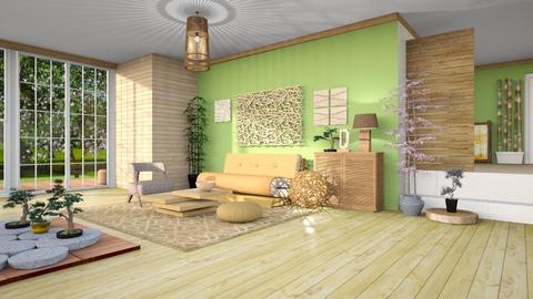 futon living room - by Tatjana113