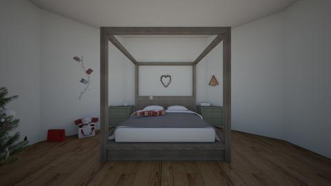 Christmas room - Bedroom  - by Cute builds