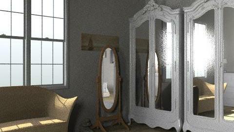 Bedroom - Country - Bedroom  - by Charlottevale