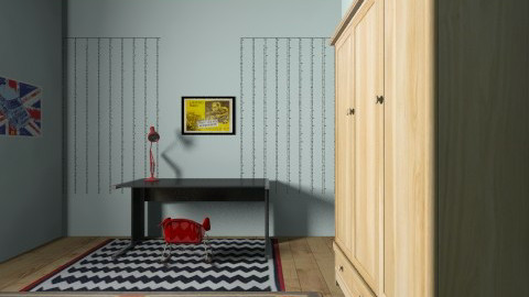 Punx  - Retro - Bedroom  - by Bianca Minturn Shg