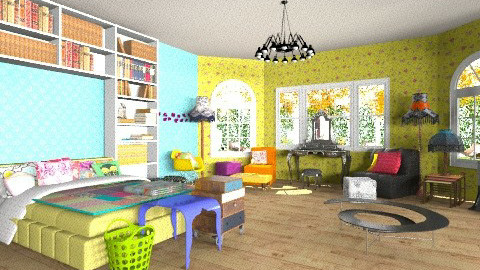 One Bedroom House for Fem - Eclectic - by pinkypie188