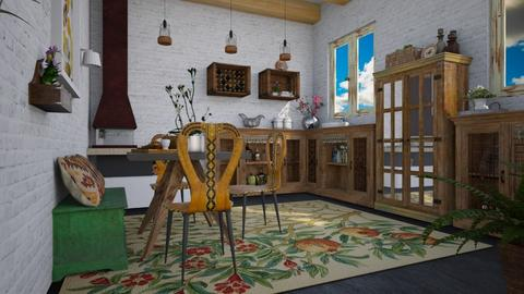 traditional kitchen - Kitchen - by Paper Flower