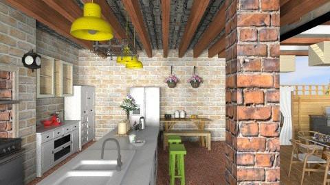 Organic Kitchen 26 - Kitchen  - by heyfeyt
