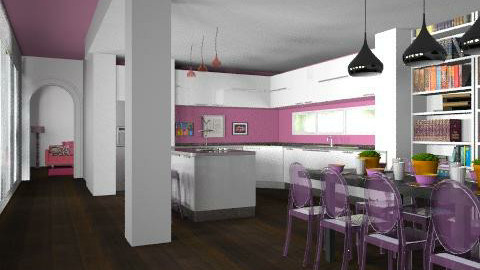 Transparent Socialite - Modern - Kitchen  - by Carliam