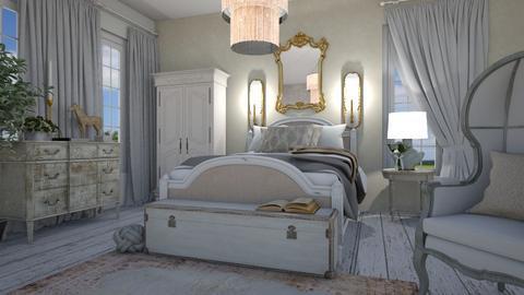 shabbybedroom - Bedroom  - by willhenning