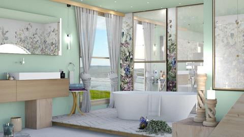 M_ Wild flowers - Bathroom  - by milyca8