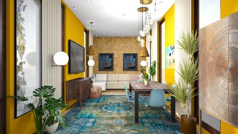 parts of somting bigger - Living room  - by Maks Martin