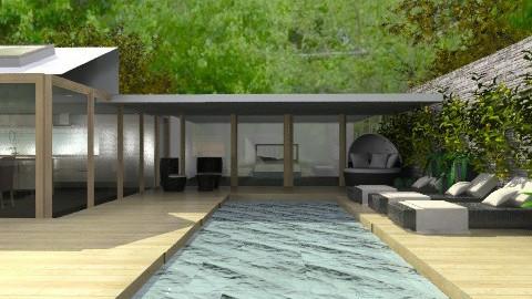 Doing Laps - Modern - Garden  - by Carliam