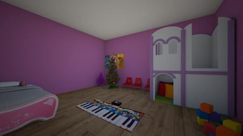 Maria Alice kids room - Kids room  - by 10kozdim