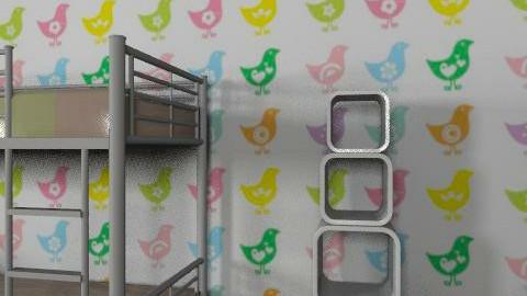 bedrroom brd - Eclectic - Bedroom  - by Caitlin Johnston