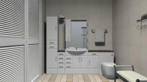 bathroom - Minimal - Bathroom  - by deleted_1550519236_sorroweenah