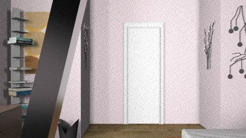 Adonica Daniels - Retro - Bedroom  - by AdonicaDaniels