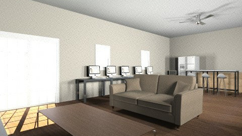 Man Cave 2 - Living room - by aqua_oracle