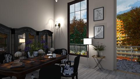 oi09779809nini - Modern - Dining room  - by neumediadesigns