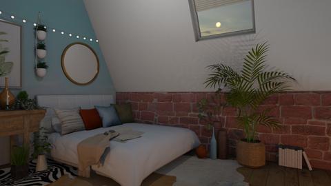 Comfortable Bedroom - Feminine - Bedroom  - by Dragonets of Destiny