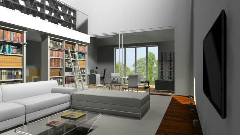 large living room  - Minimal - Living room  - by bethcot