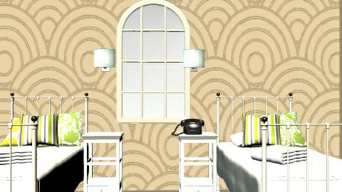Modern/Retro - Retro - Bedroom  - by popso3144