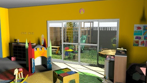 Preschool - Eclectic - Kids room - by muffinswithfrosting
