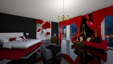 Luxury suite - Feminine - Living room  - by Audrey17