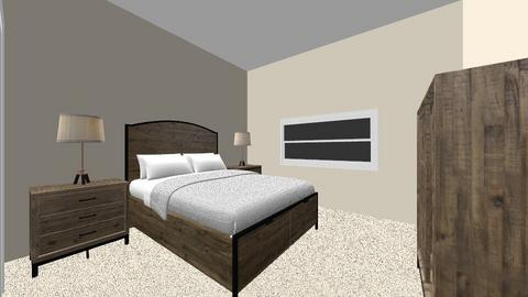 Aulakh younger sons room - Bedroom - by Mittemiller