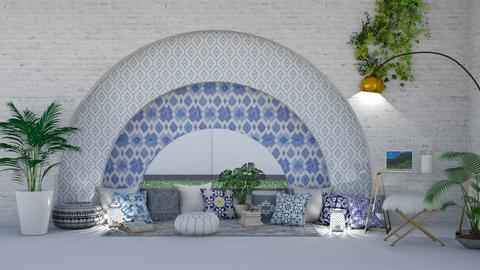 greece inspired chill - Living room  - by ange06