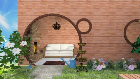 blues hole - Rustic - Garden  - by Deise  Tamires