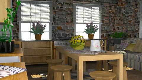 country - Rustic - Kitchen  - by chania