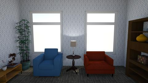 artificial colour - Living room  - by Ziyee