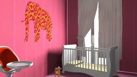 Three - Modern - Kids room  - by Nemra