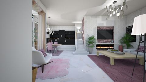 Rosa - Living room - by nanabpf