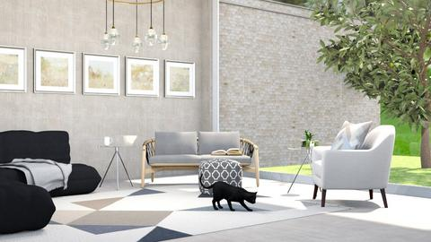 Vita Tranquilla - Modern - Living room  - by designkitty31
