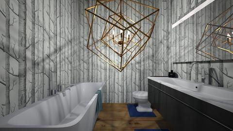 Braykes bathroom - Modern - Bathroom  - by DelilahRose04